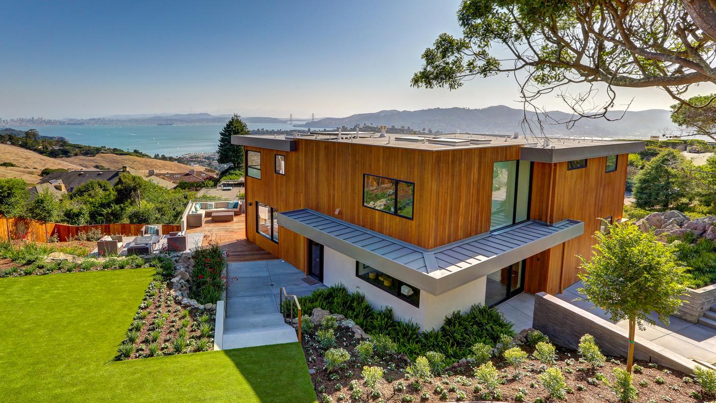 Home overlooking San Francisco