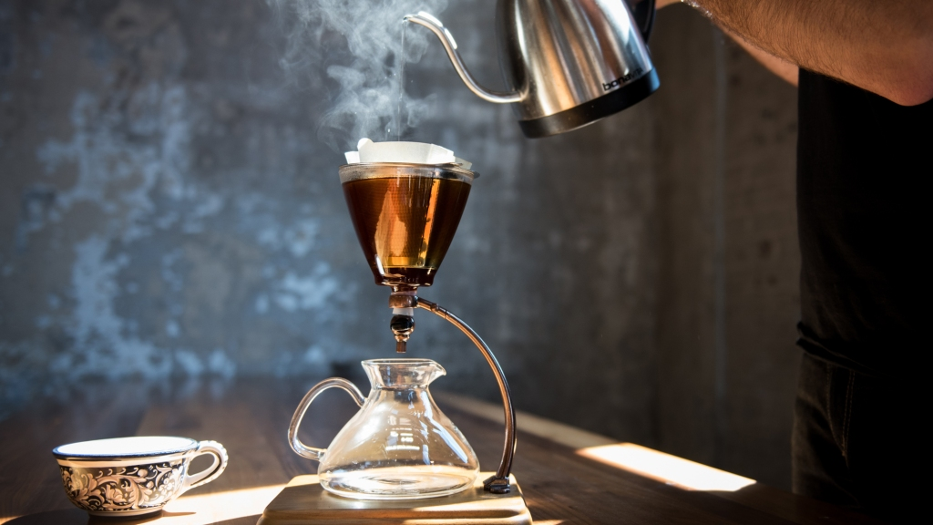silverton pour over coffee