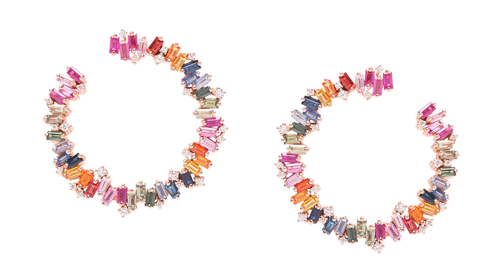 Suzanne Kalan hoop earrings