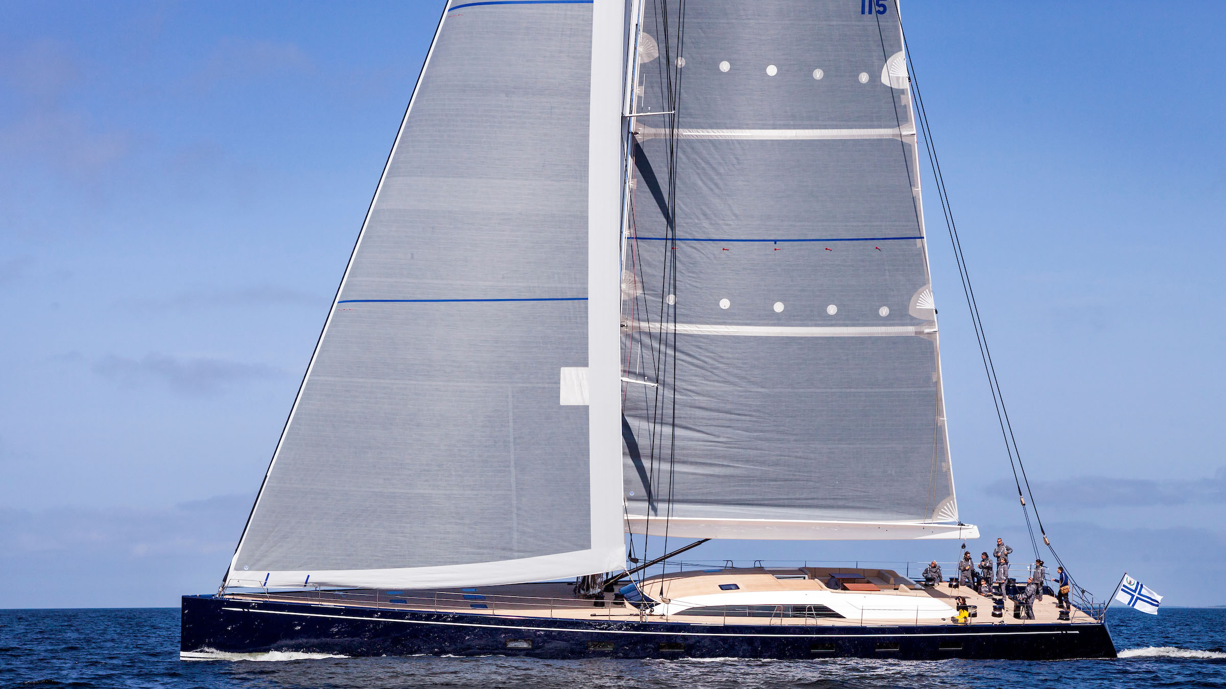 Nautor's Swan Solleone Ferragamo sailing yacht