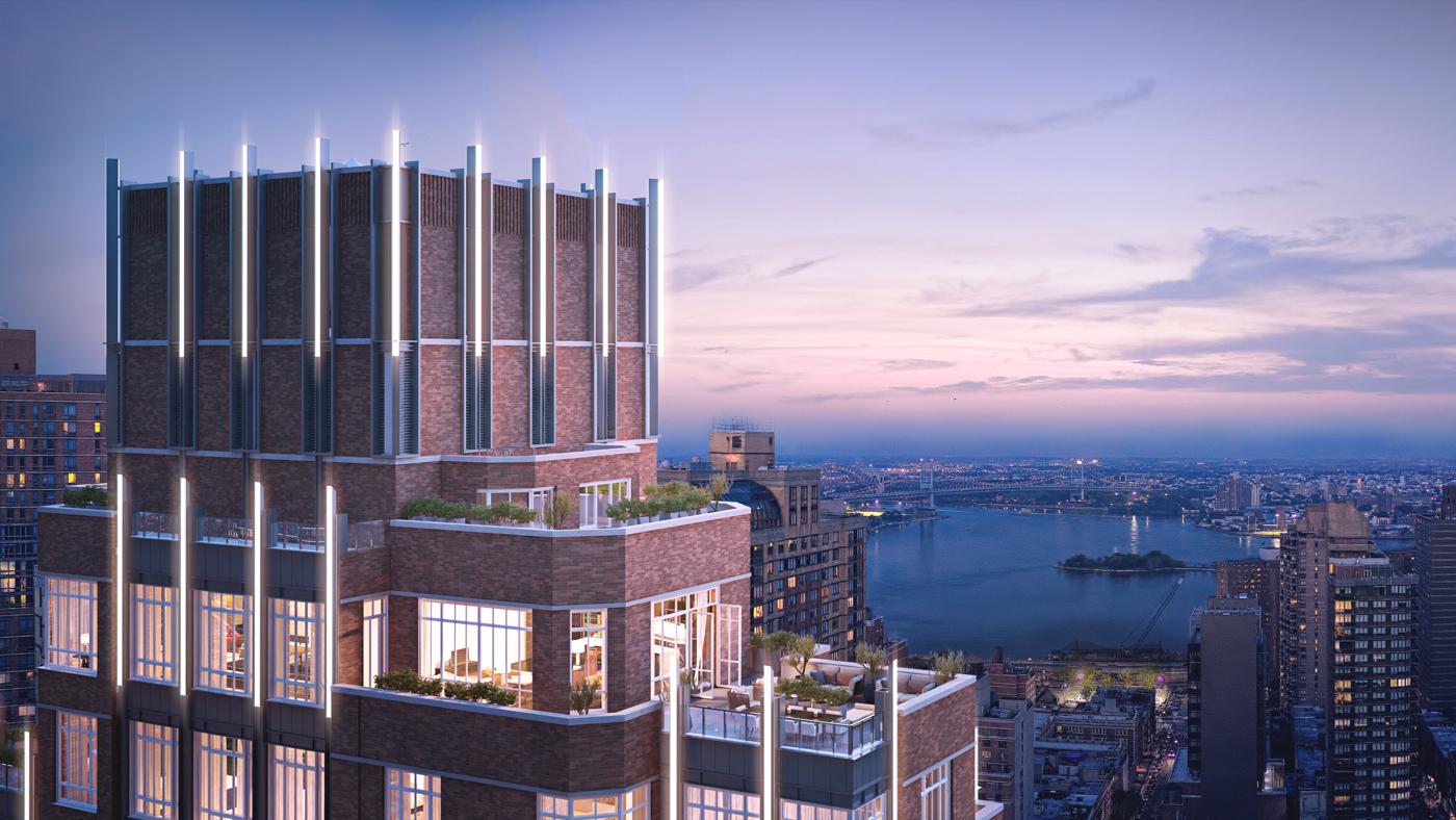 building overlooking water