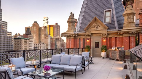 The Beekman's New Turret Penthouse Suites