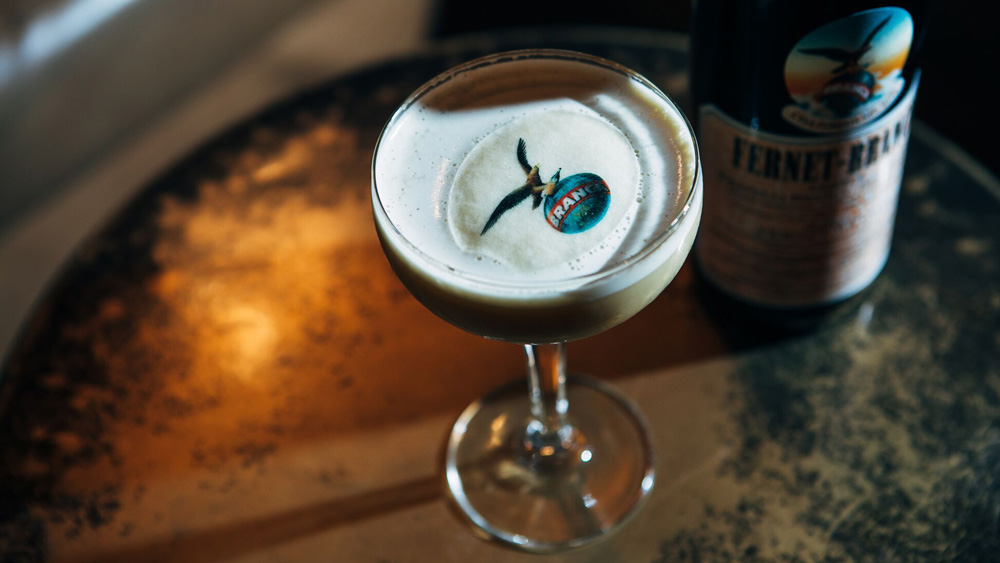 Fernet-Branca cocktail