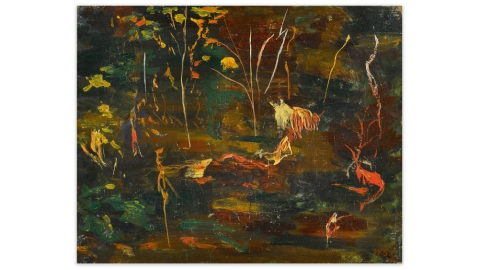 Sir Winston Churchill oil painting