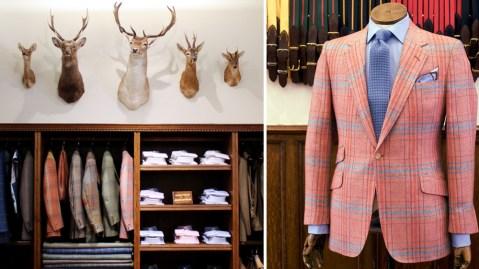 Huntsman Bespoke Tweed