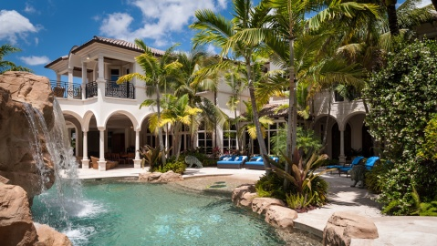 Mediterranean Estate in Boca Raton, Florida