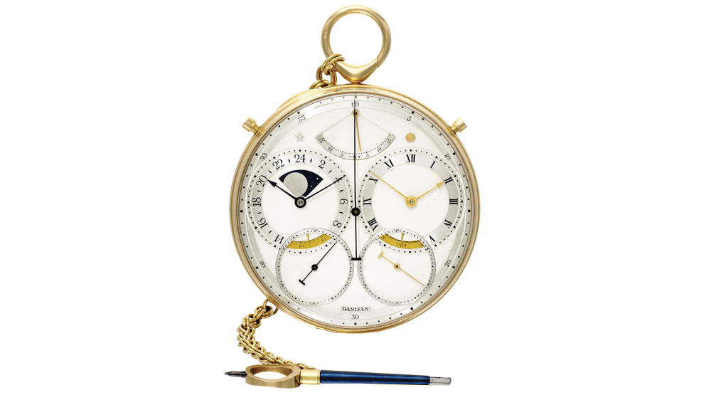 George Daniels's Space Traveller's watch