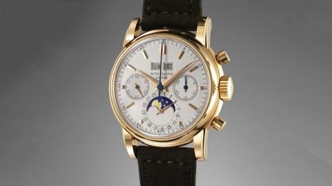 Patek Philippe 2499 perpetual-calendar chronograph
