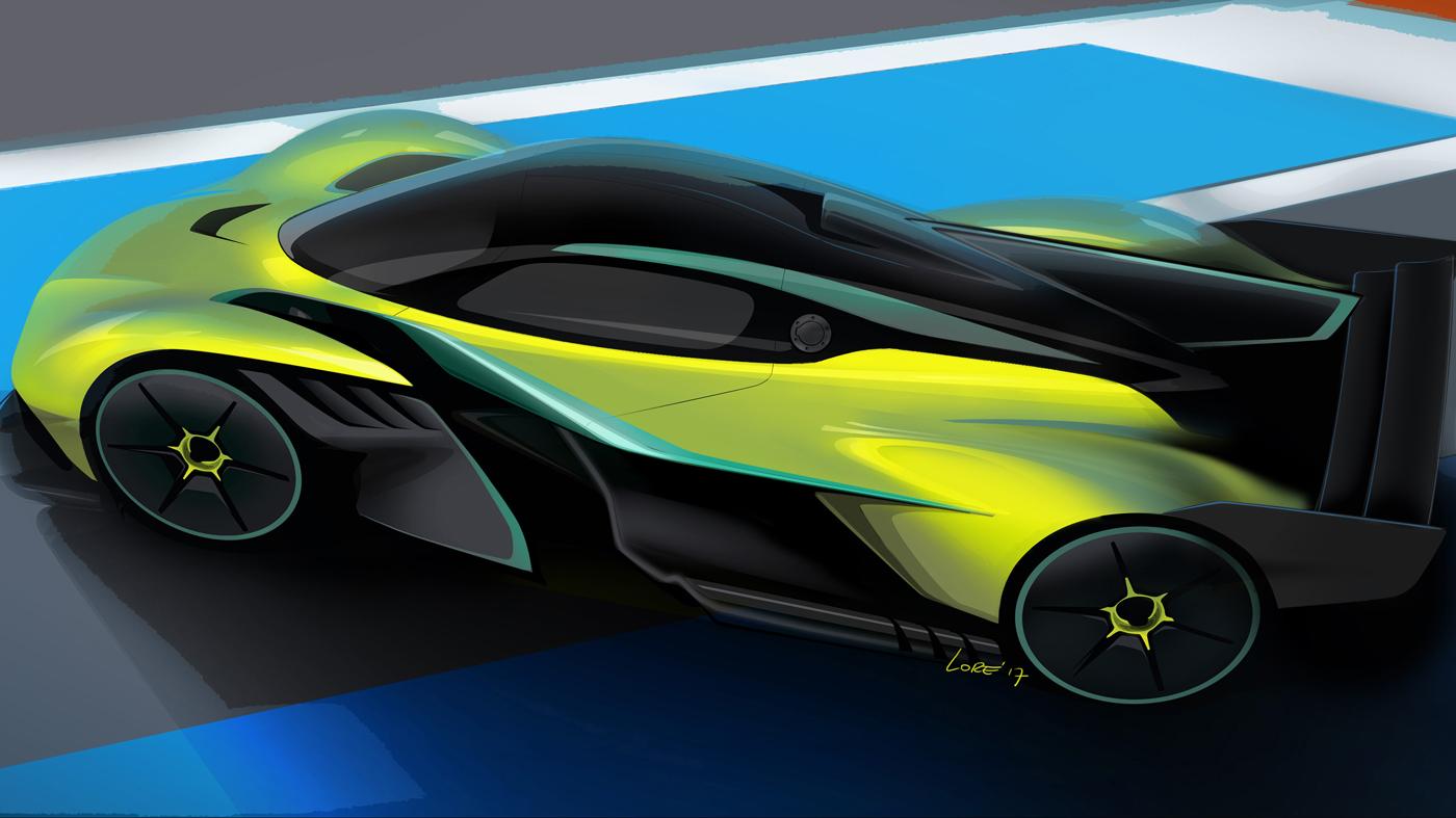 Aston Martin's Valkyrie AMR Pro