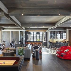 Mick De Giulio Designs A Stylish Garage For A Car Enthusiast Robb Report