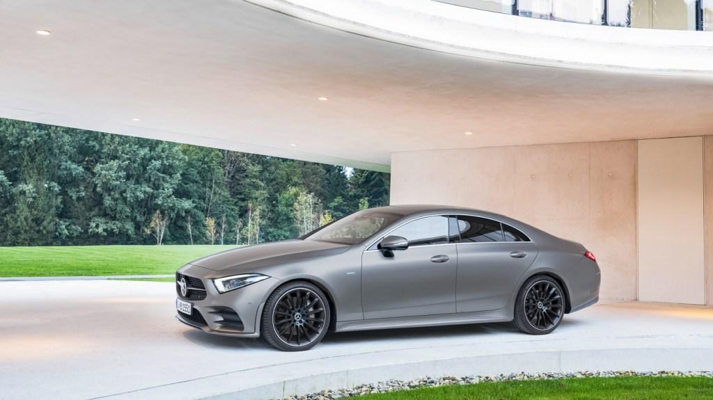 The 2018 Mercedes-Benz CLS-Class.