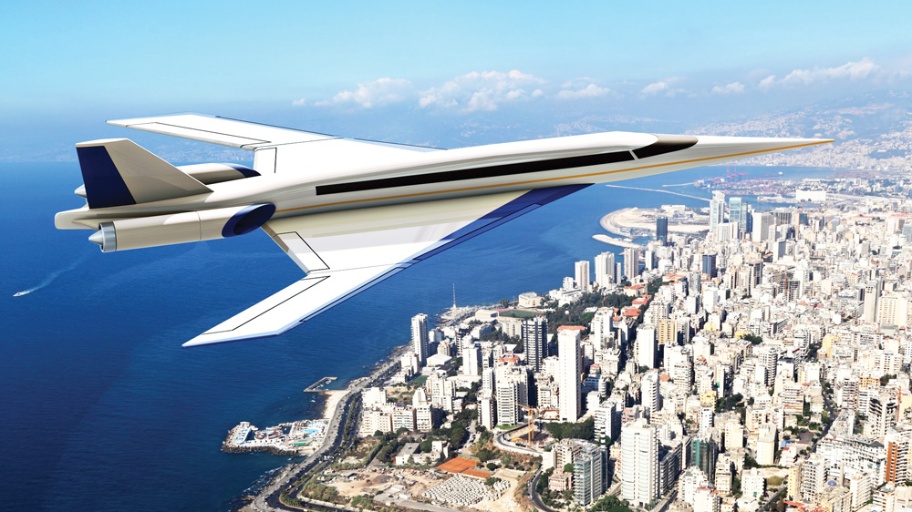 Spike Aerospace S-512 Supersonic Jet
