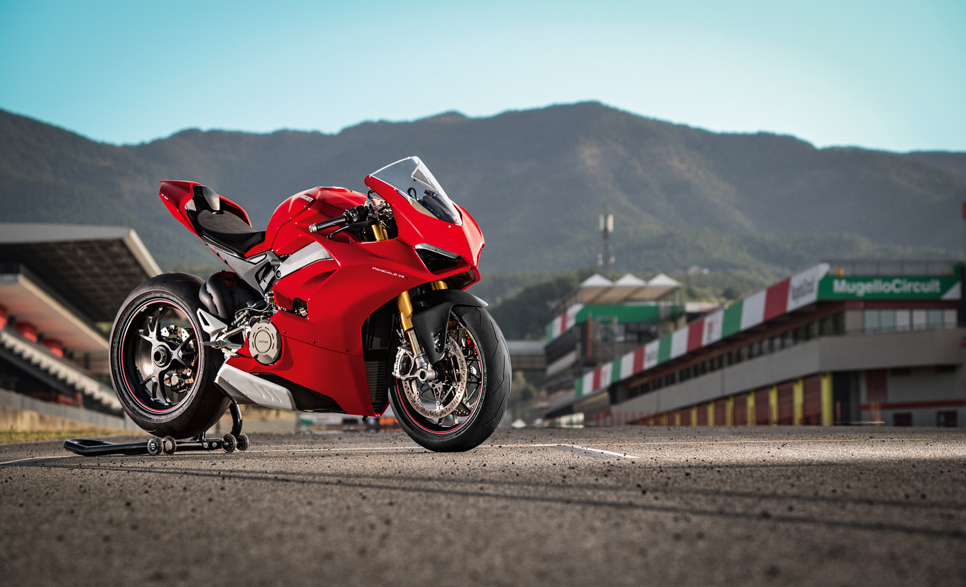 The 2018 Ducati Panigale V4.