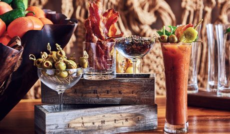 bloody mary bacon olives