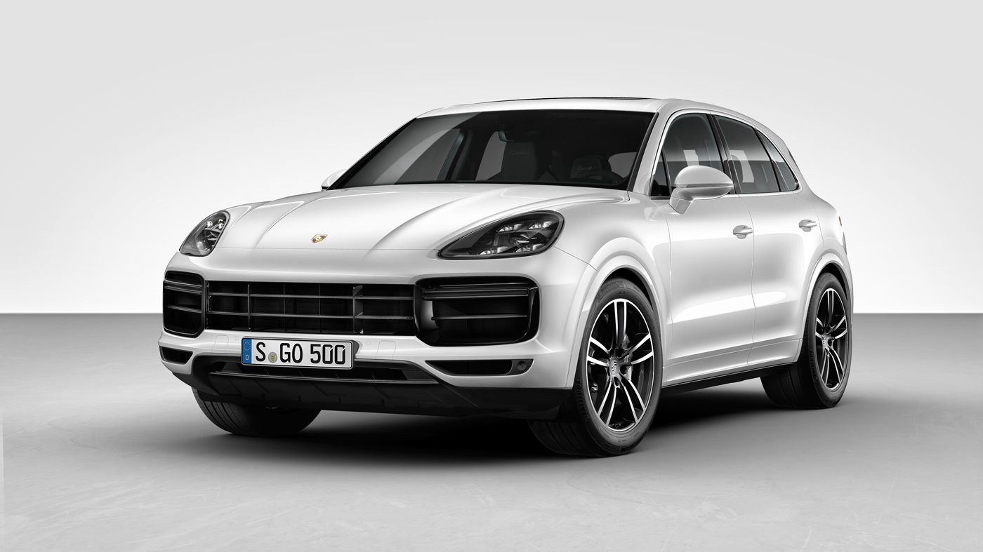 The 2019 Cayenne Turbo.