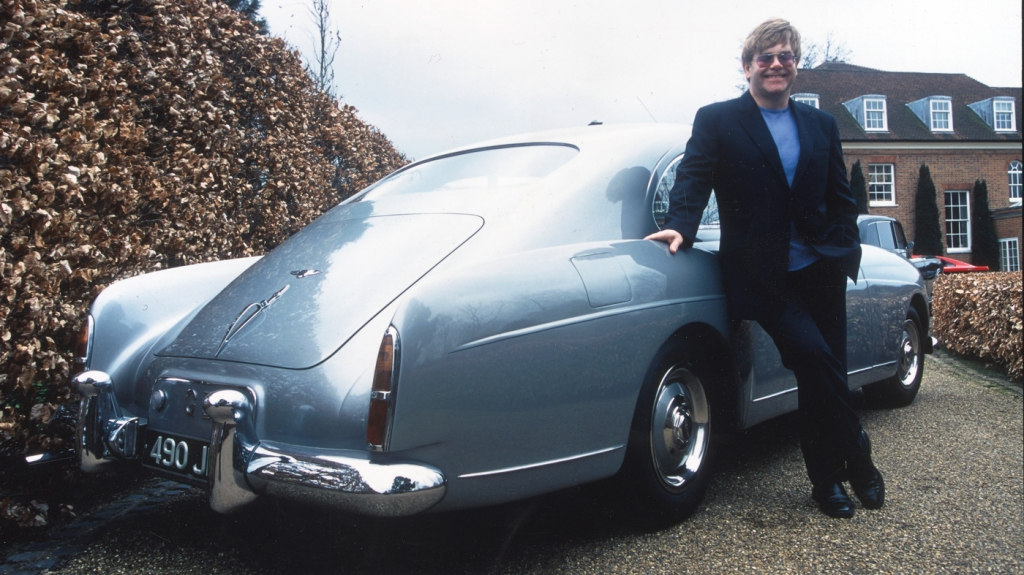A 1956 Bentley S1 Continental Sport Saloon formerly owned by Elton John.