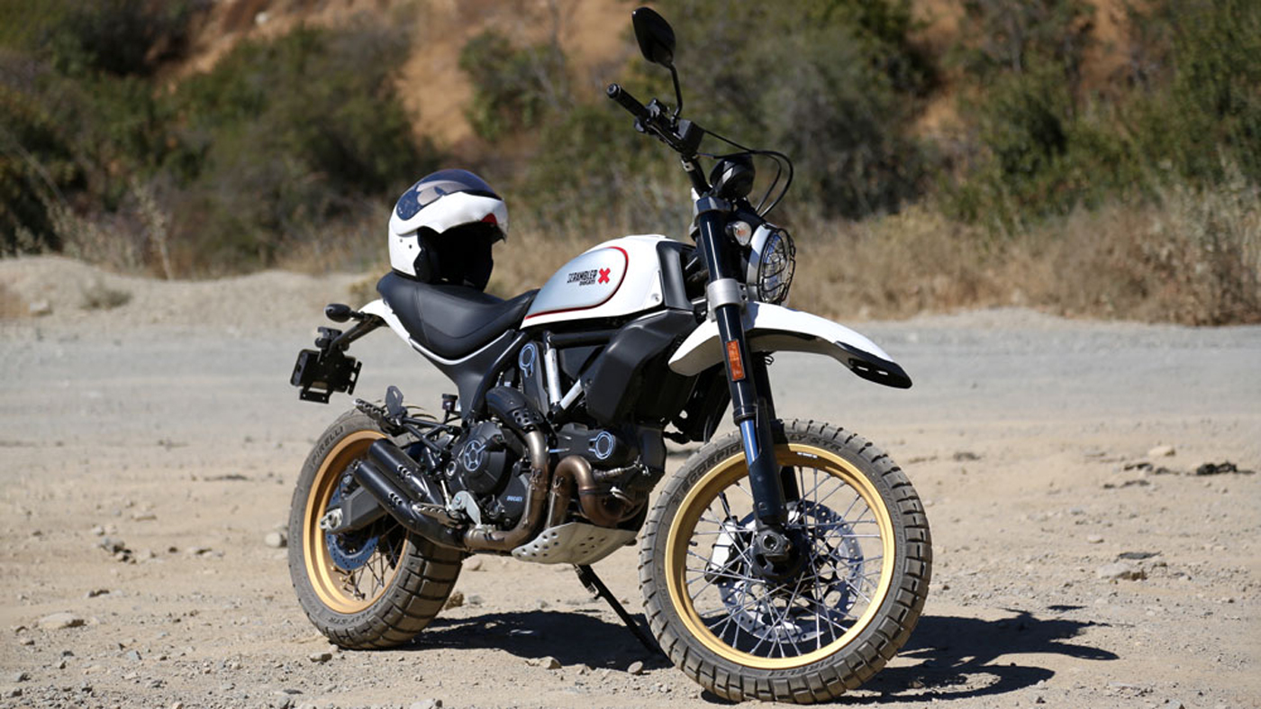The Ducati Scrambler Desert Sled.