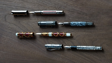 Montegrappa, David Oscarson, Graf von Faber-Castell Pens