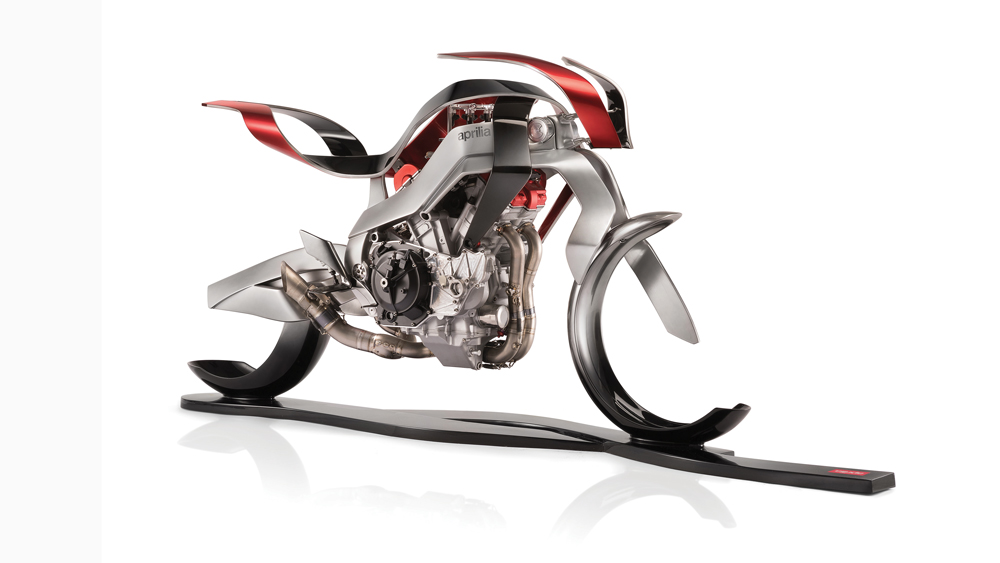 The Aprilia XSV4 concept.
