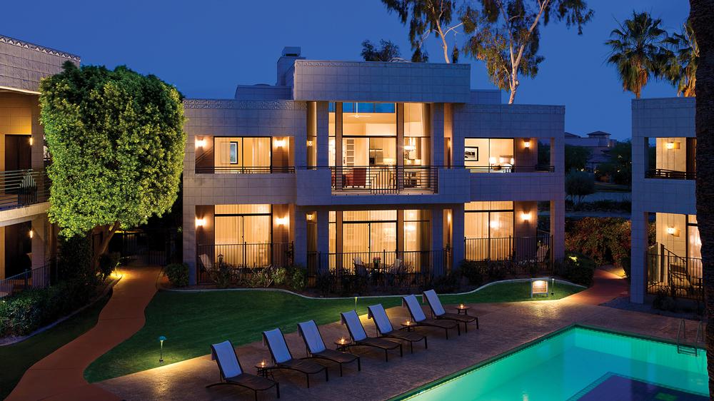 Two-bedroom villa at Arizona Biltmore