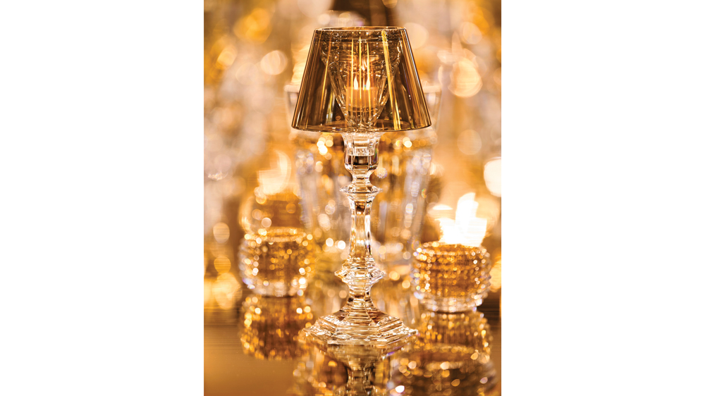 Baccarat's new crystal