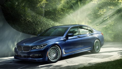 The 2018 BMW Alpina B7