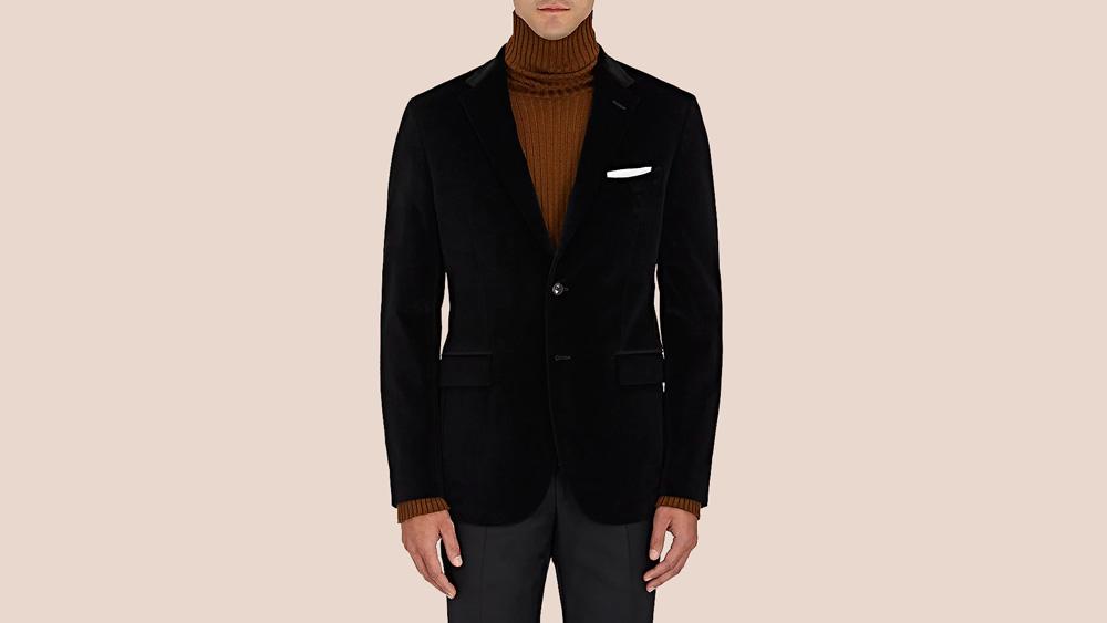 Boglioli Velvet Two-Button Sportcoat