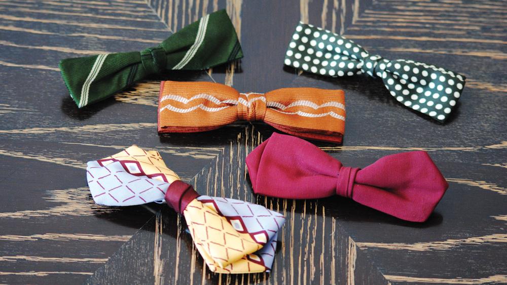 Berman's beloved bow ties