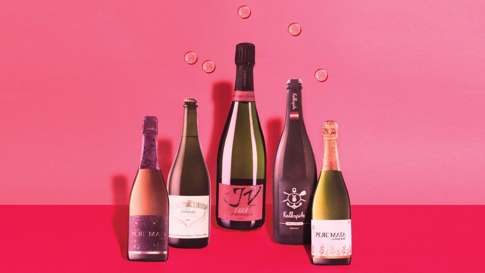 Bubbly wines