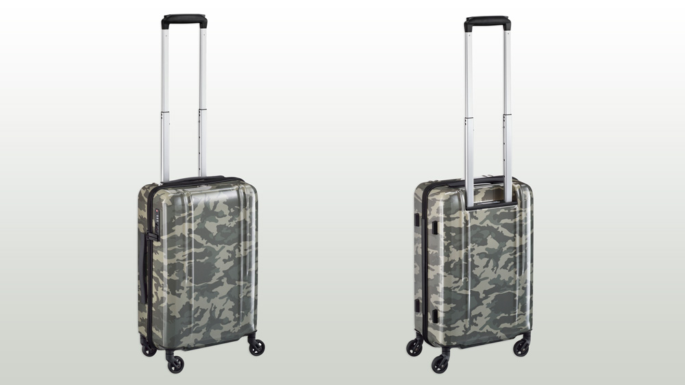 Zero Halliburton Camouflage Suitcase