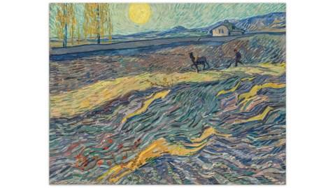 Van Gogh Laboureur dans un champ Christie's