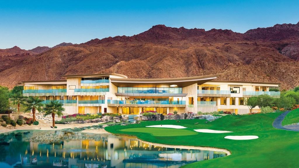 Golf clubhouse in Palm Desert, California