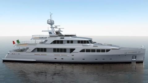 Codecasa C122 Italian superyacht