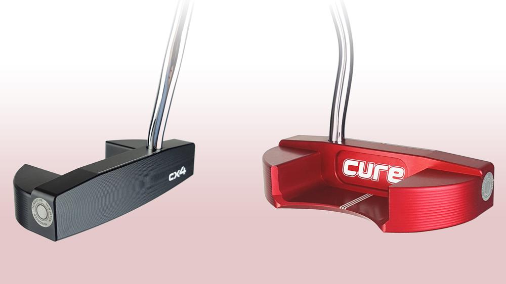 Cure Putters CX4 front back
