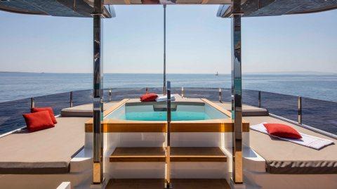 Custom Line Navetta 33 Italian superyacht