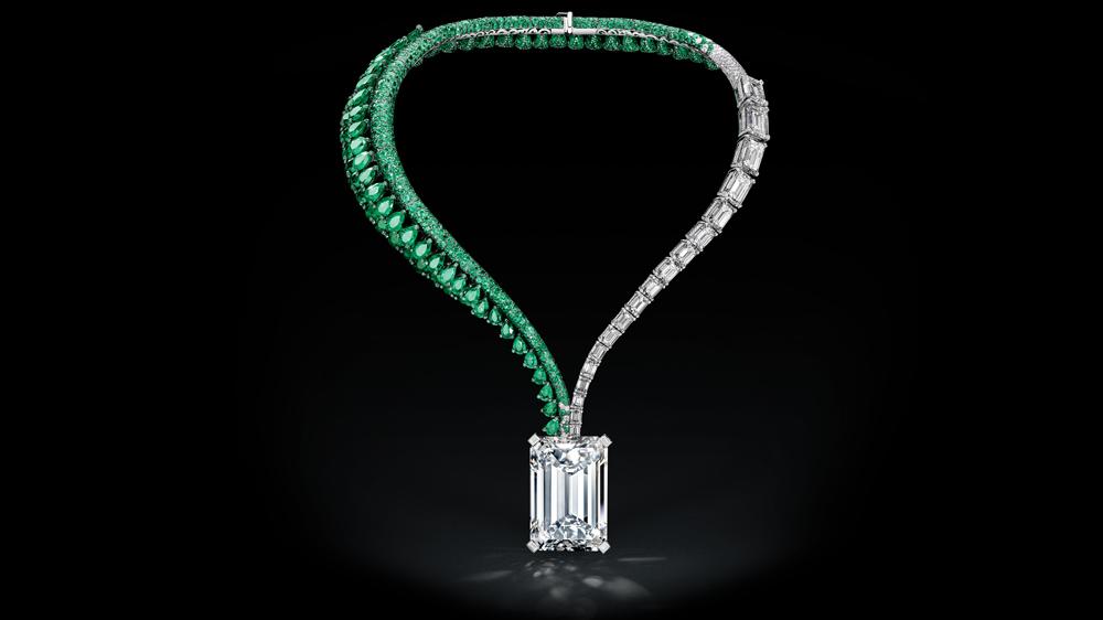 de Grisogono 163-carat D-flawless diamond necklace