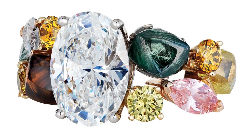 DeBeers diamond ring