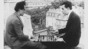 Man Ray and Marcel Duchamp