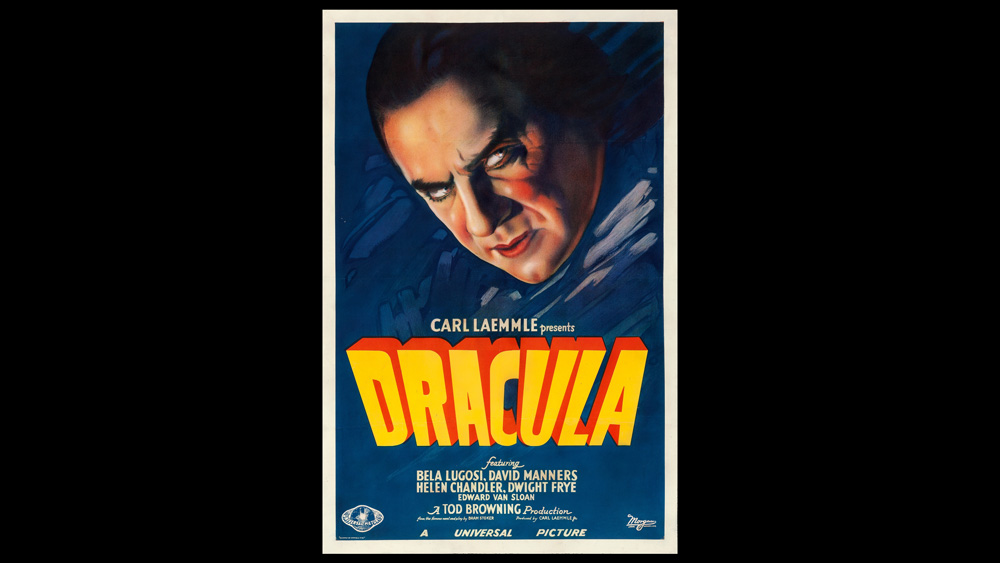 1931 Dracula Movie Poster