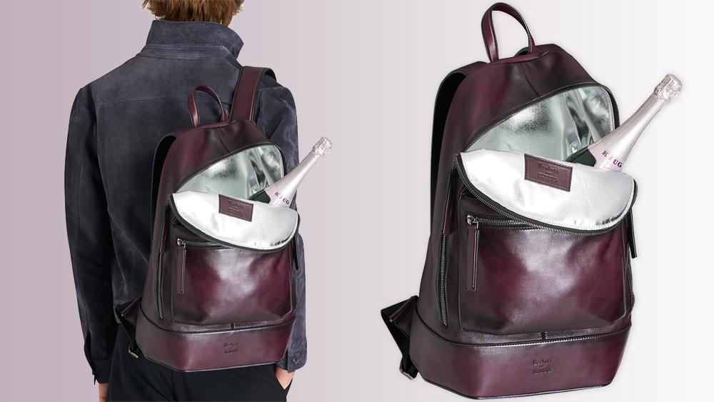 Berluti and Krug backpack