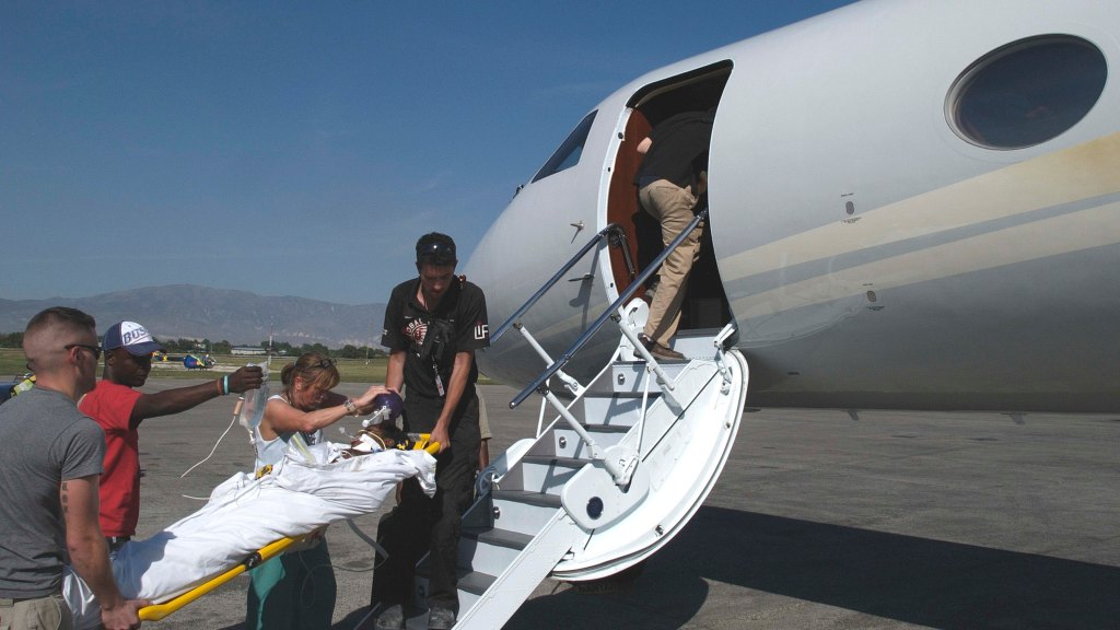 private aviation jet charity philanthropy disaster