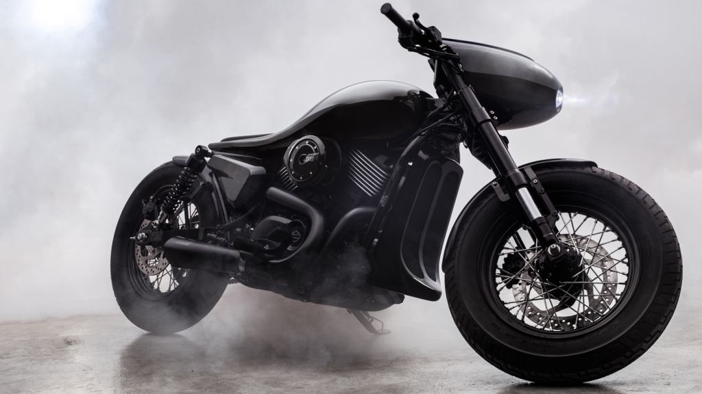 The Dark Side motorcycle from Bandit9.