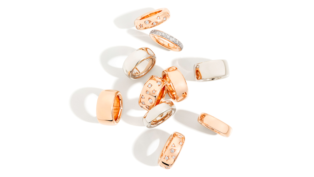rings Iconica Collection by Pomellato