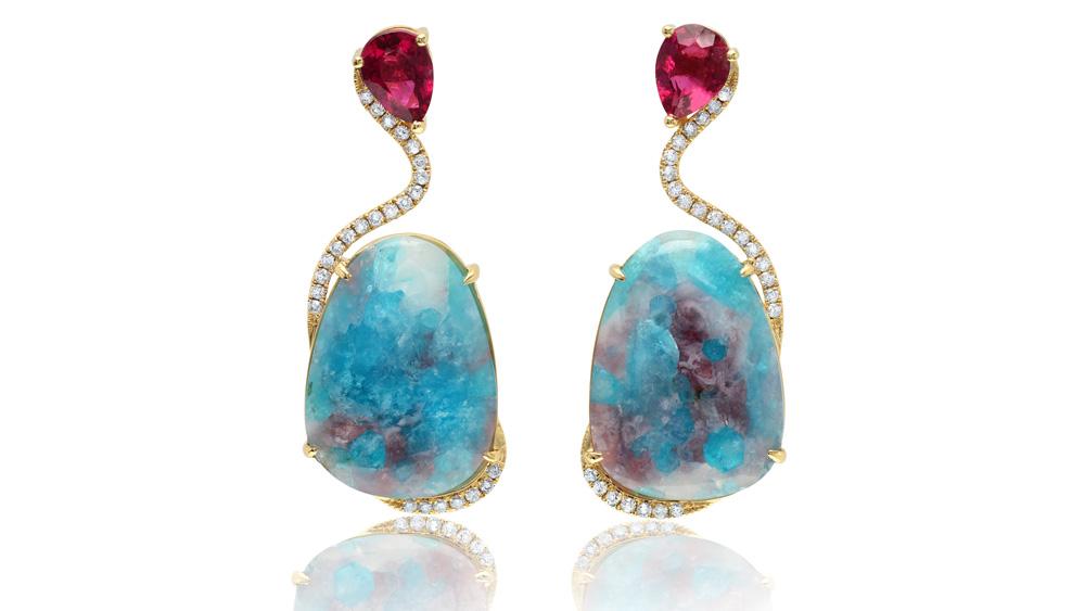 Graziela Paraiba Obsession earrings