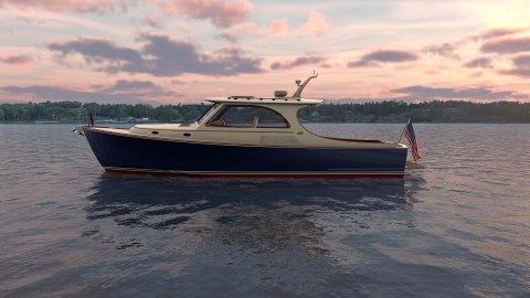 Hinckley Picnic Boat 40 day boat