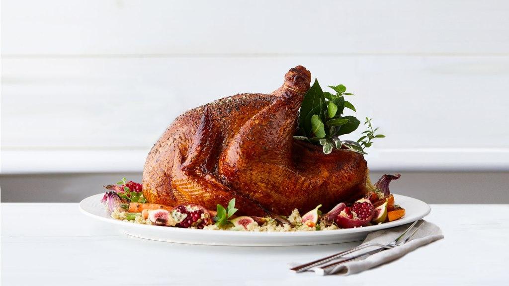 roast turkey herbs