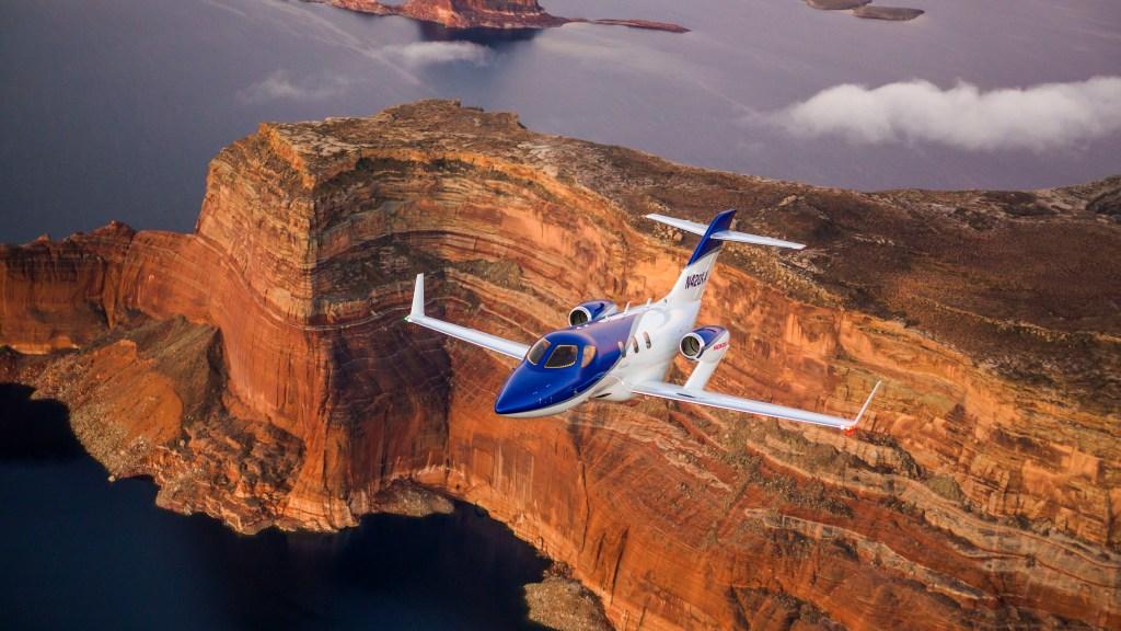 HondaJet advanced light jet plane