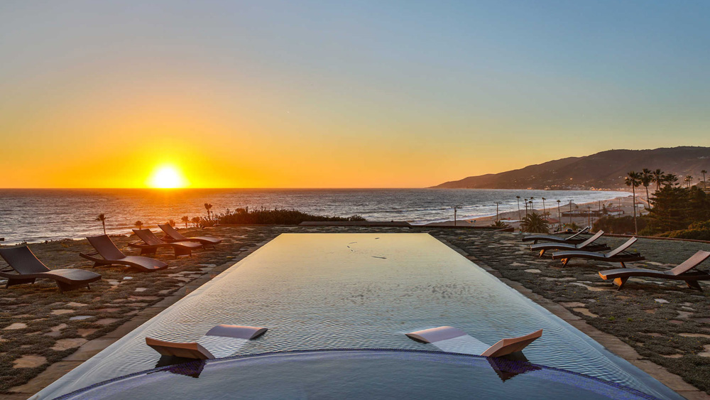 Oceanfront Home on Zuma Beach in Malibu, California