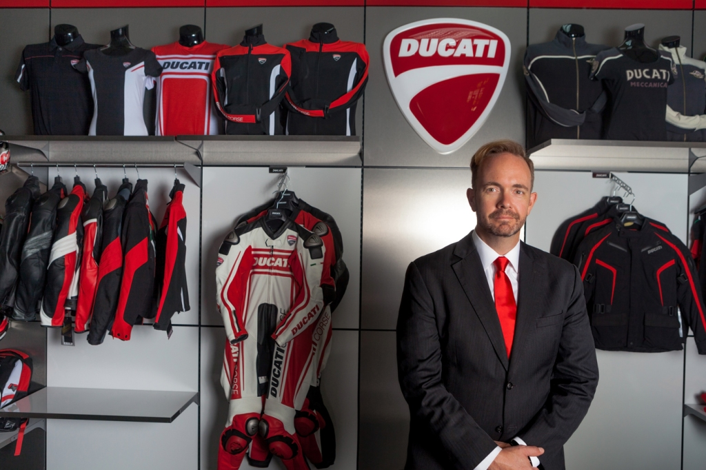 Jason Chinnock, chief executive officer of Ducati North America.