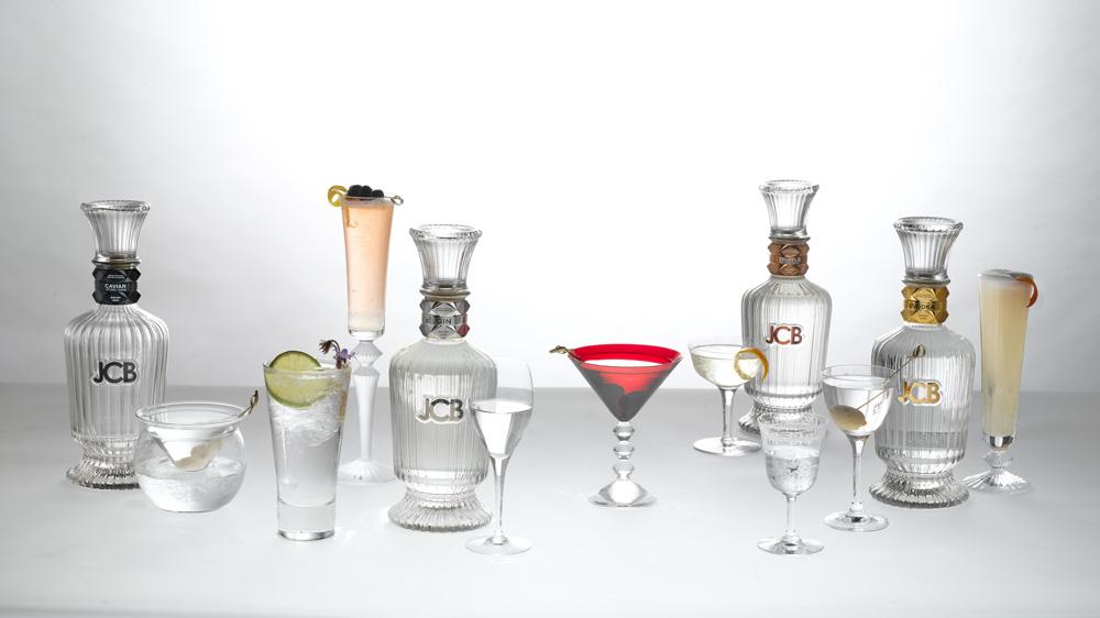 JCB Spirits new vodka and gin